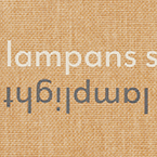 I lampans sken / By lamplight